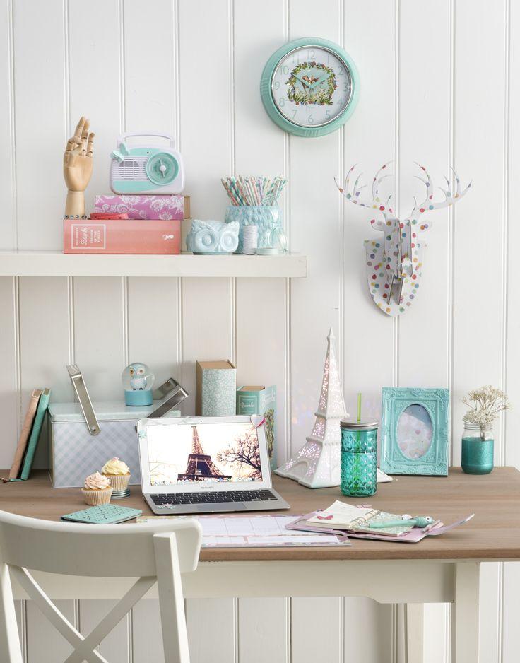 213 besten arbeitsplatz deko bilder auf pinterest b ros arbeitsbereiche und schreibtische. Black Bedroom Furniture Sets. Home Design Ideas