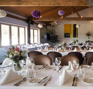 Wedding set up at Jellyfish Mapua