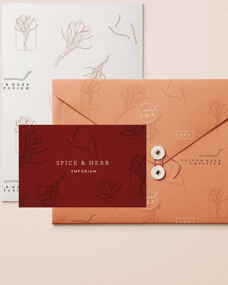 Gorgeous Modern Branding And Feminine Stationery Design With