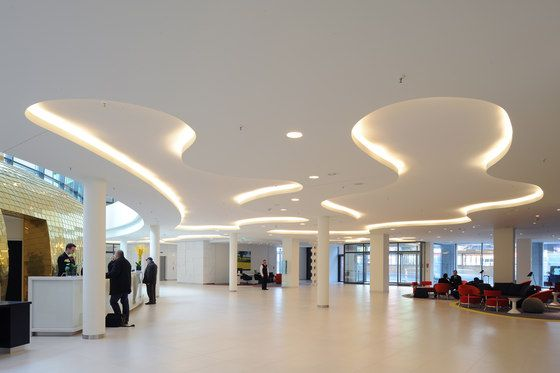 Ceiling systems | Plafotherm® Heated|Chilled ceilings | Lindner. Check it out on Architonic