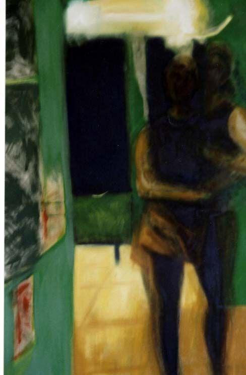 Ramiel (Skizze), Öl auf Leinwand, 2008.