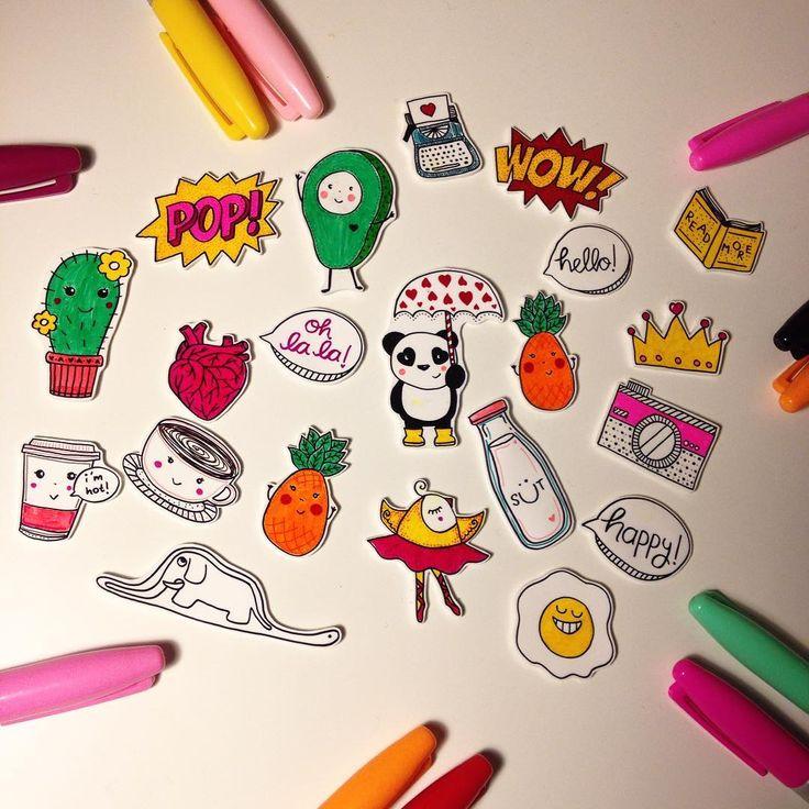 Işık varsa renk de var✨Yepyeni Kleo broşları hazırlanıyor.✨☘Sometimes you have to create your own rainbownew brooches are on the way. #kleodesign #handmade #handmadeaccessories #drawing #inspiration #art #craft #broş #yakaignesi #rozet #elyapimi #gununaksesuari #illustration #colorful #papercraft #craftmaking #handcrafted #pineapple #cactus #avocado #panda #happy #cute #design #positivevibes #accessories #shrinkplasticart #pin #badge