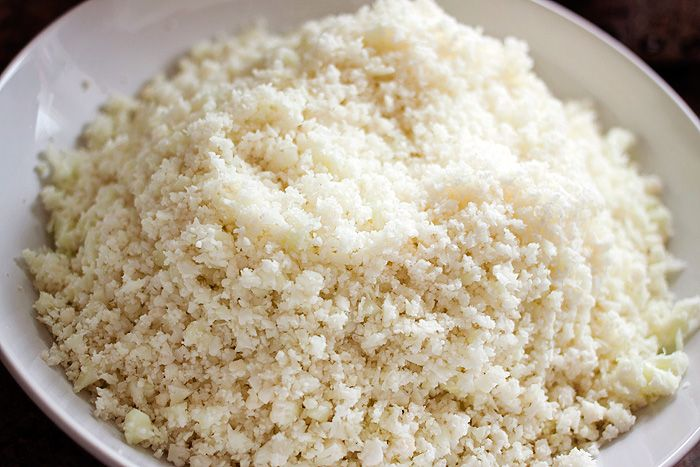 Cauliflower Rice in the Tefal Actifry (2)