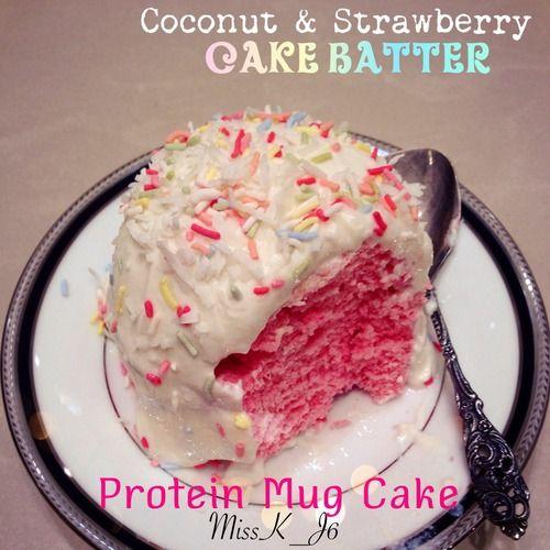 Optimum Nutrition Cake Batter Recipes