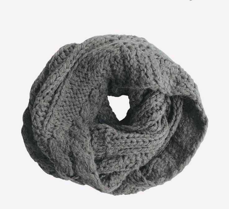RELLA - MICHELE B. SNOOD IN HEATHER GREY