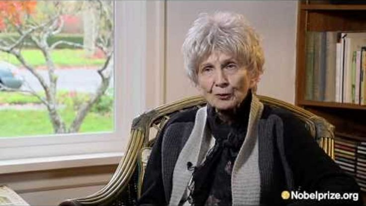 Alice Munro's Nobel Prize Interview Is Charming and Inspiring
