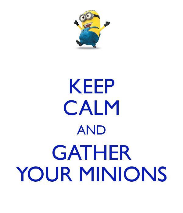 I love minions.