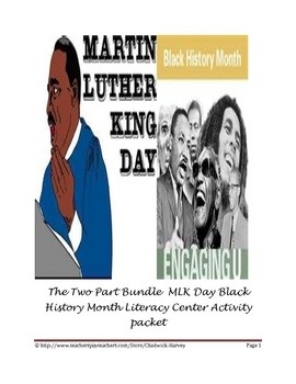 plans for Martin Luther King Jr. Day and Black History Month.