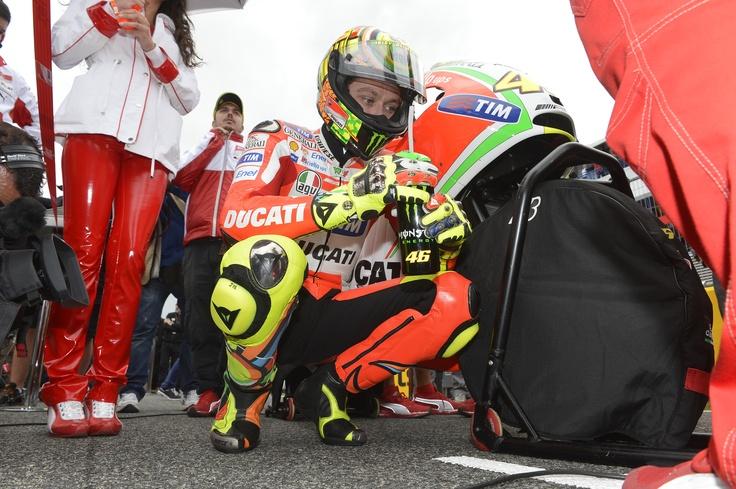 Valentino Rossi, Ducati. Foto: Ducati Corse