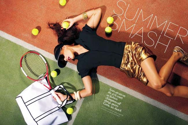 tennis fashion