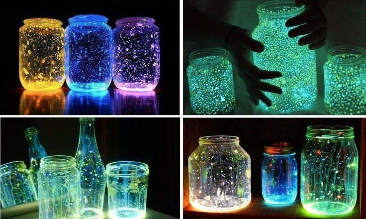 Делаем светящиеся банки своими руками Очень просто и романтично ;) | thePO.ST