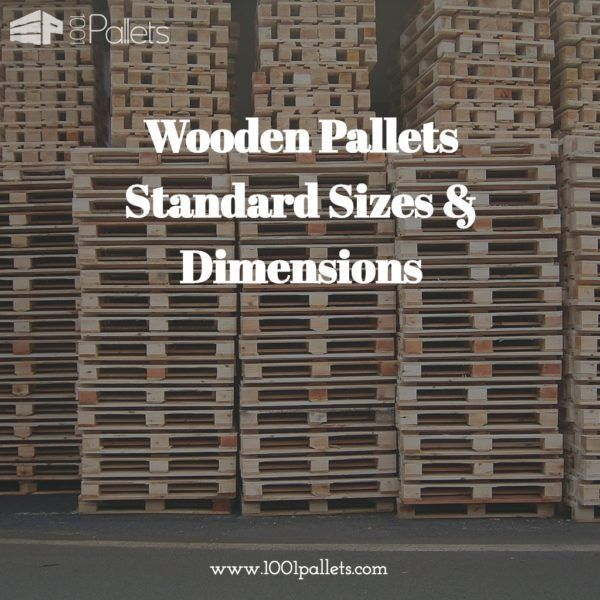 "In the United States industry, the standard size wooden pallet is 48"" x 40."" The information below is simply a guideline for the most common pallets employed today. Of the top pallets used in The United States, the most popular is…"