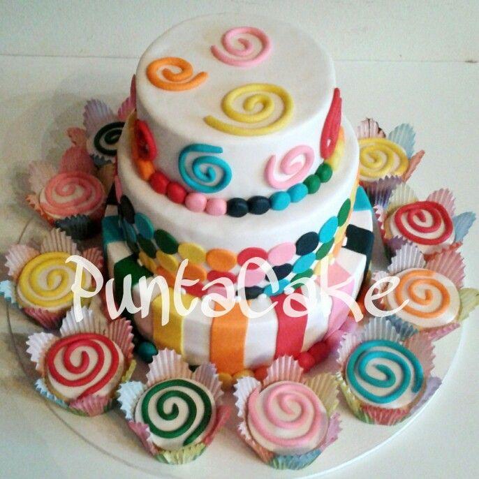 Cake colores