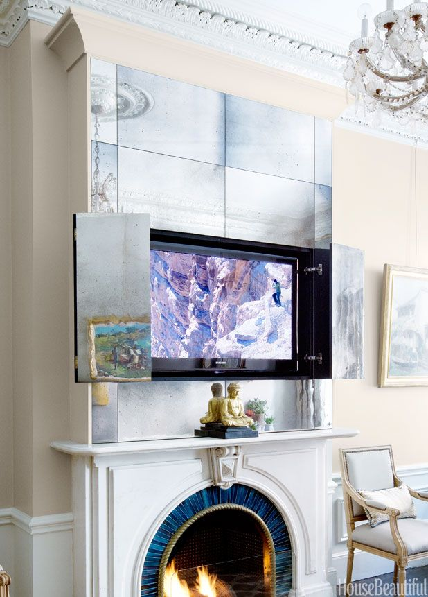 The Chicest Way To Disguise Your TV