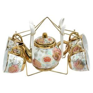 Grab this Classy Tea Set perfect for wedding gift for her.  Shop #OnlinegiftstoIndia @ http://www.giftsngreets.com