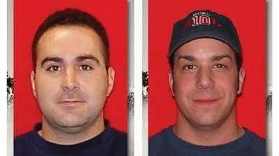Kansas City Fire Department IAFF Local 42 Firefighters Larry Leggio and  John Mesh LODD 2015