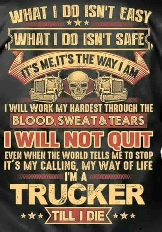 Rig Quote 165 Best Trucker Quotes Images On Pinterest  Truck Drivers Semi
