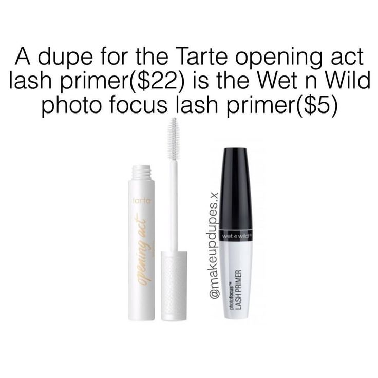 """164 Likes, 4 Comments - makeup dupes (@makeupdupes.x) on Instagram: """"These mascara primers are great for adding volume to your lashes while nourishing them too! I love…"""""""