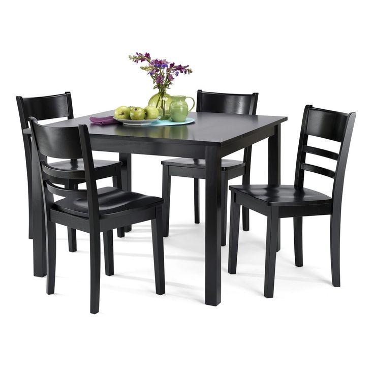 Hd Designs Ecco Dining Room Set Black