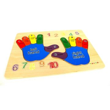 Wooden Educational Hand Puzzle