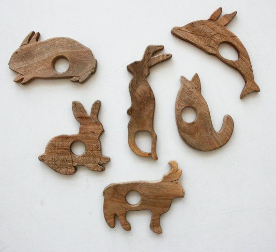 Baby teethersWooden Baby, Unique Engraving, Engraving Handmade, Kids Ideas, Wooden Toys, Wood Teether, Teether Unique, Kids Toys, Baby Teether