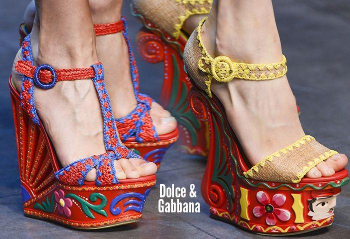 Dolce & Gabbana Spring/Summer 2013 Shoes