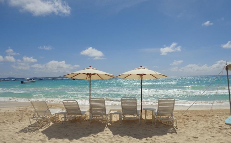 These chairs are waiting for you... #Anguilla