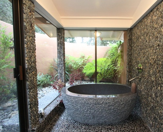 Stone Bathroom Dream Home Pinterest Stone Bathroom