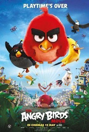 The Angry Birds Movie.Okay for a kids movie.  Liked it when they did shoot the birds from a sling shot.