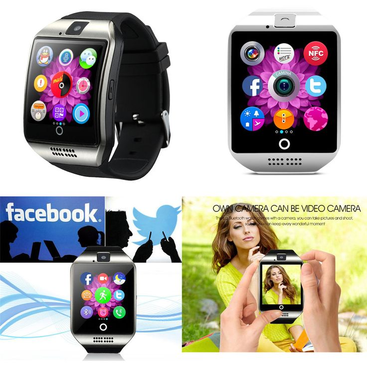 Bluetooth Smart Watch Reloj Pulsera Inteligente SIM Cámara Para Android Samsung