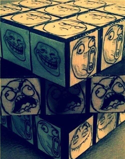 Memes Rubik's cube (rage comics)