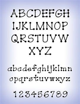 Decorative Fonts Set