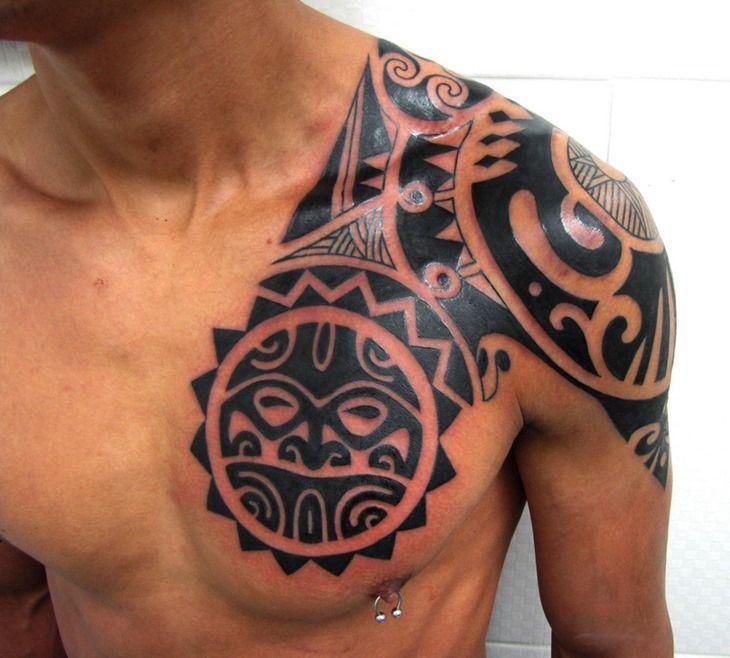 Best 25 Tribal Chest Tattoos Ideas On Pinterest: Best 25+ Tribal Shoulder Tattoos Ideas On Pinterest