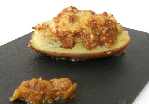 Receta patatas rellenas - Patatas rellenas al horno - Patata rellena - Comida italiana recetas - Recetas de patatas rellenas de carne - Recetas de papas