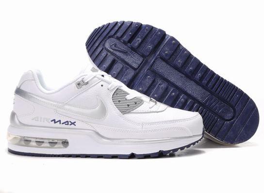 Man Nike Air Max Ltd White-Grey 316391 030