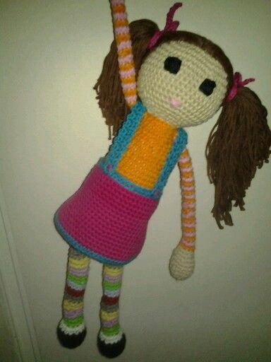 Doll. Crochet DIY