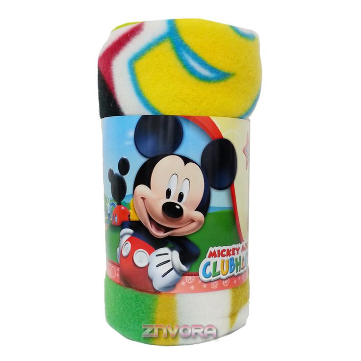 Disney Mickey Mouse Club House Fleece Soft Throw Bedding