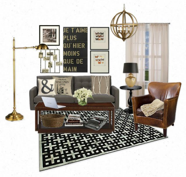 Industrial Style Interiors: The Lovely Side: Neutral Industrial Chic