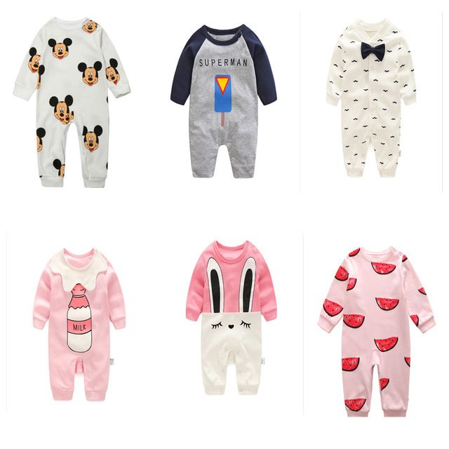 Check it on our site 2017 new baby romper boy girl clothes one-piece jumpsuit brand costume toddler suit infant clothing  bebes tiger rabbit mickey just only $12.29 - 13.36 with free shipping worldwide  #babyboysclothing Plese click on picture to see our special price for you