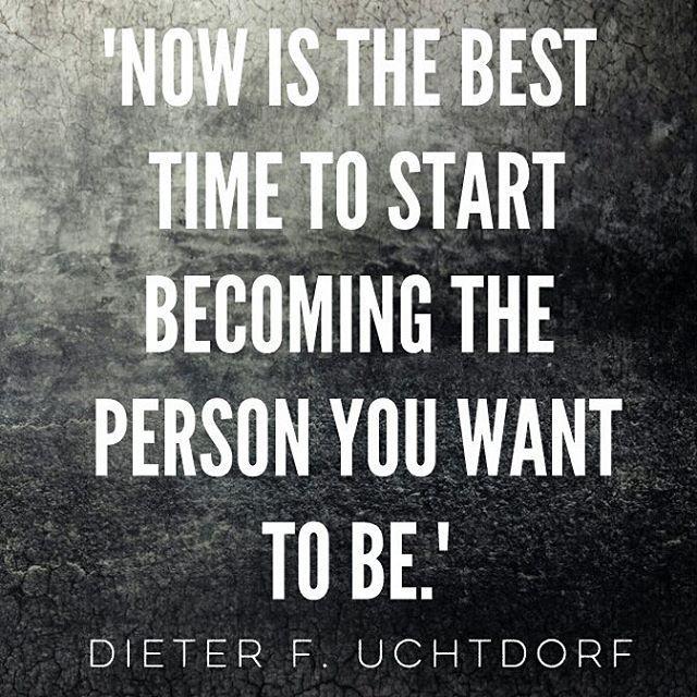 Start now. #LDS #Mormon