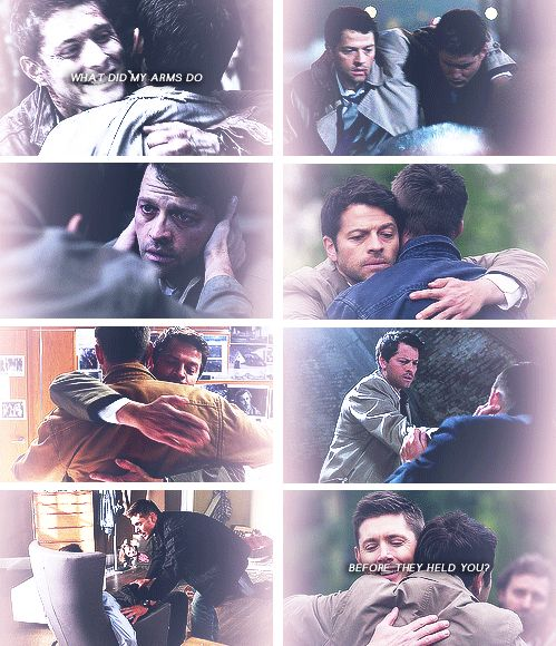 What did my fingers do before they held him? What did my heart do, with its love? #spn #destiel