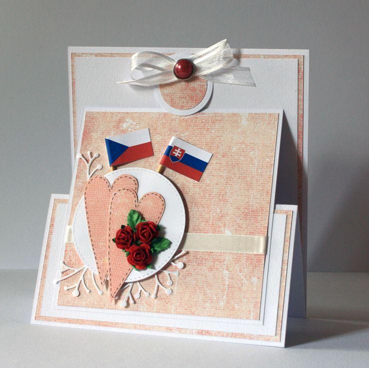 Wedding card - international
