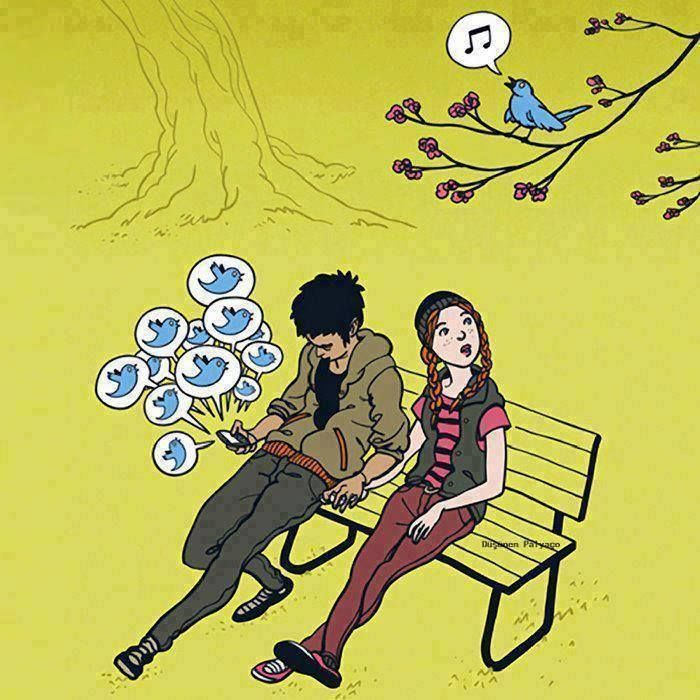 27 Powerful Images That Sum Up How Smartphones Are Ruining Our Lives