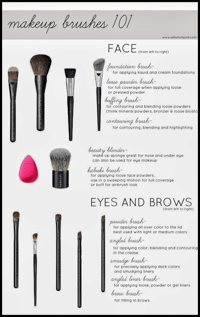a dash of gold: >>into to makeup brushes