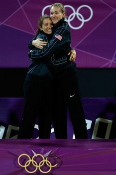 GOLD AND GLORY...Misty May-Treanor and Kerri Walsh talk about life post-2012 Olympics