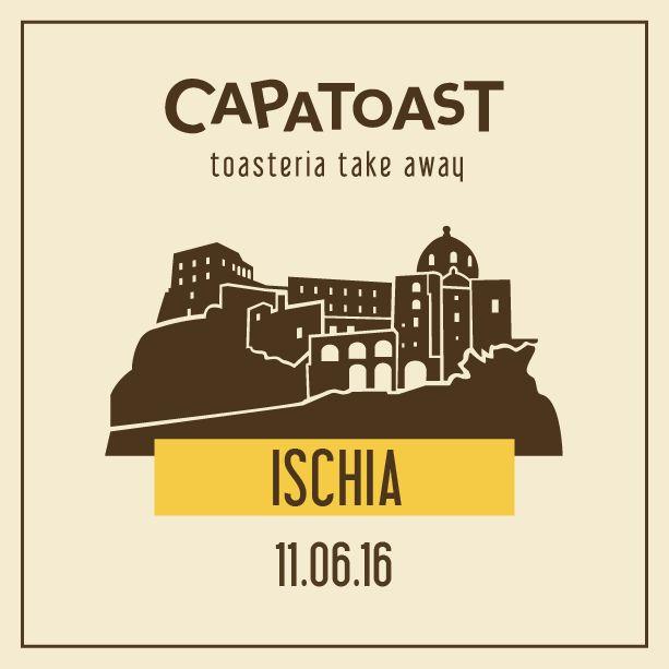 Sabato 11 Giugno: Capatoast la prima Toasteria Take Away in Italia è sbarcato sulla ISOLA DI ISCHIA NEW OPENING Via D'Avalos 14