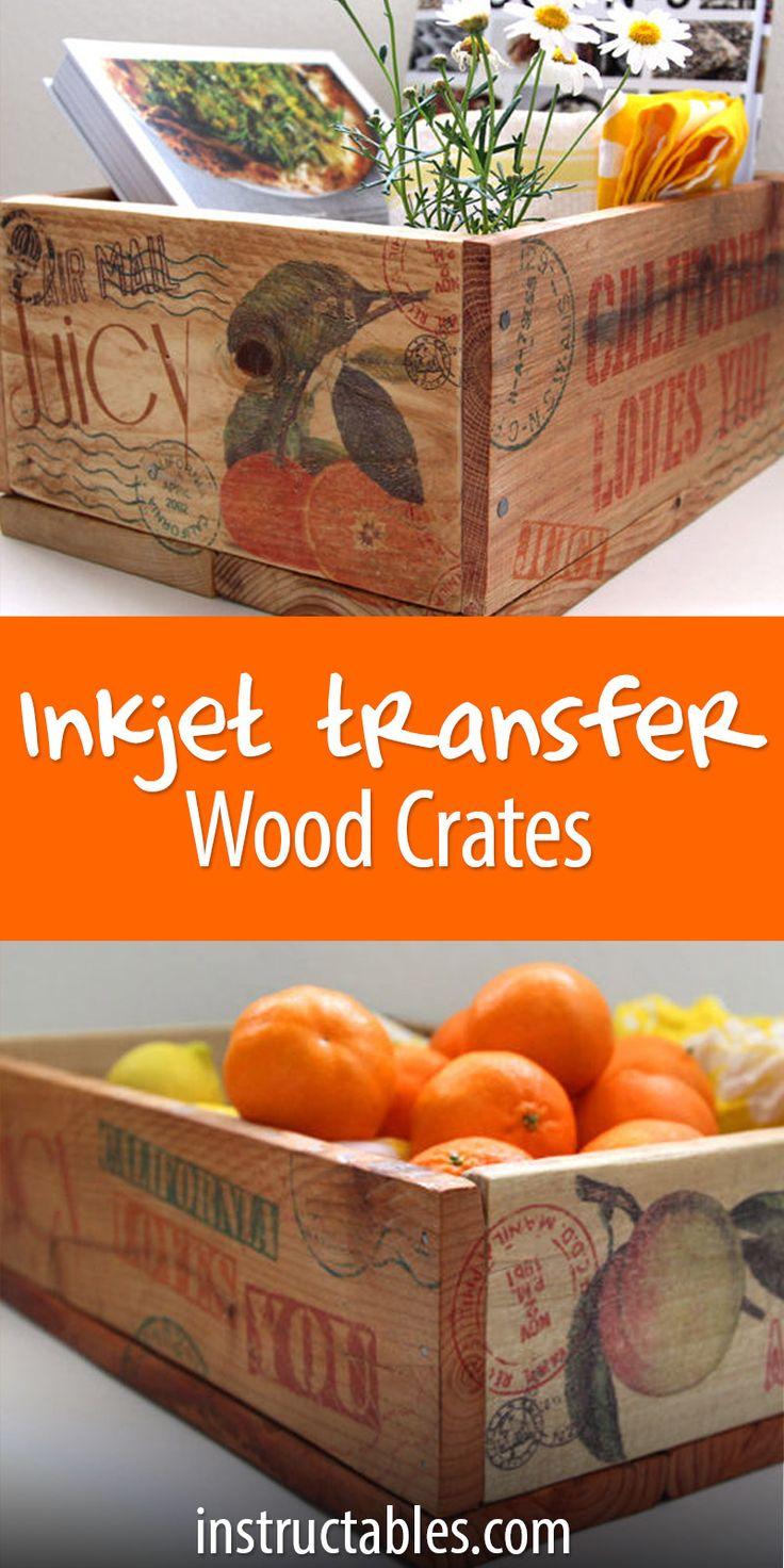 pallet crates inkjet image transfer to wood crafts pallet crafts diy cutting board wood. Black Bedroom Furniture Sets. Home Design Ideas