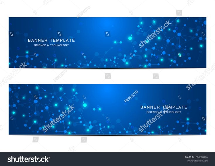 Science and technology banners. Molecular and chemical structure. Medical, science and technology background. Vector illustration #Ad , #AFFILIATE, #M…