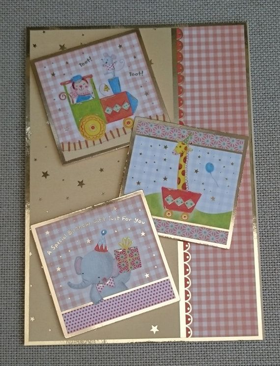 Handmade C5 Greeting Card  Birthday by BavsCrafts on Etsy