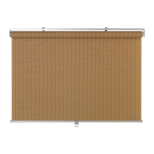 "IKEA - BUSKTOFFEL, Roller blind, 48x76 ¾ "", , The blind is cordless for increased child safety."